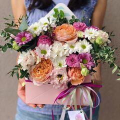 Магазин цветов Кошык кветак Конверт классический
