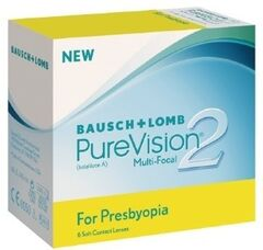 Линзы Bausch & Lomb Контактные линзы Pure Vision  2HD Multifocal