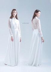 Свадебный салон UNONA Свадебное платье «Алексис» из коллекции JADE 2016