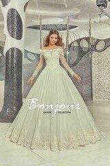 Свадебное платье напрокат Bonjour Платье свадебное «Carli» из коллекции LAMBRE 2017