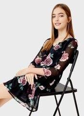 Платье женское O'stin Шифоновое платье с оборкой LR2S61