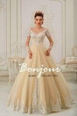 Свадебное платье напрокат А-силуэт Bonjour Платье свадебное «Lucia» из коллекции EDEM 2016