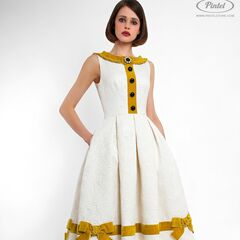 Платье женское Pintel™ Приталеное платье без рукавов Akkudine