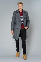 Верхняя одежда мужская Etelier Пальто мужское утепленное 6М-9103-1