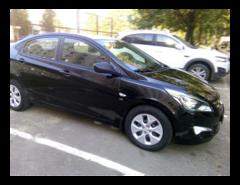 Прокат авто Прокат авто Hyundai Accent (2015 г.в, чёрный перламутр)