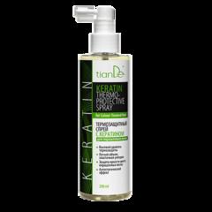 Уход за волосами tianDe Термозащитный спрей с кератином для окрашенных волос
