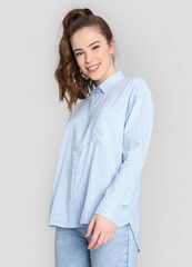 Кофта, блузка, футболка женская O'stin Рубашка в клетку LS2W91-61