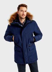 Верхняя одежда мужская O'stin Пуховая парка с натуральным мехом MJ6T98-68
