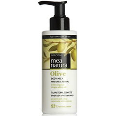 Уход за телом Farcom Увлажняющее молочко для тела с оливковым маслом Mea natura Olive 250ml
