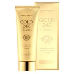 Уход за лицом TONYMOLY Омолаживающая маска с золотом и улиточной слизью Luxury Gem Gold 24K Mask