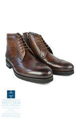 Обувь мужская HISTORIA Ботинки мужские, на шнурках, коричневые