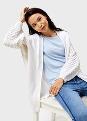 Кофта, блузка, футболка женская O'stin Структурный женский кардиган с карманами LK4V54-02