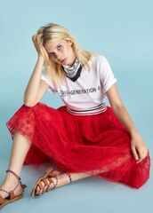 Кофта, блузка, футболка женская Ermanno Scervino Футболка SS18