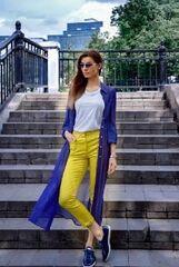 Кофта, блузка, футболка женская It's me! (Это Я!) Кардиган в синем цвете