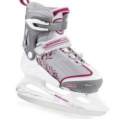 Коньки Bladerunner Детские ледовые коньки Micro Ice Girls white/rose
