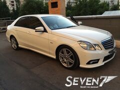 Аренда авто Mercedes-Benz E-Class W212 белый
