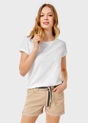 Кофта, блузка, футболка женская O'stin Базовая футболка из хлопка LT6UA1-00