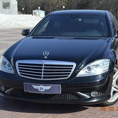 Прокат авто Прокат авто Mercedes-Benz W221 S-class черного цвета
