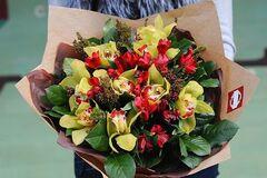 Магазин цветов Цветы на Киселева Букет «Орхидея»