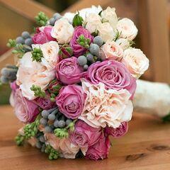 Магазин цветов Кошык кветак Букет свадебный №5