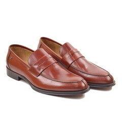 Обувь мужская HISTORIA Туфли лоферы коричнево-бордовые Sh.BrBo.73046
