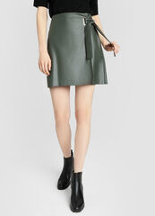 Юбка женская O'stin Кожаная женская юбка-карандаш LD4W11-G8