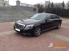 Аренда авто Mercedes-Benz W222 Лонг Черный