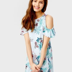 Платье женское O'stin Платье с открытыми плечами LT5SA8-60