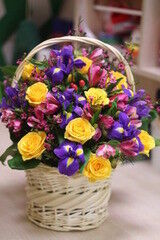 Магазин цветов Cvetok.by Цветочная корзина «От всей души!»