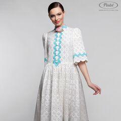 Платье женское Pintel™ Миди-платье свободного силуэта Farzana