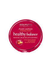 Декоративная косметика Bourjois Пудра компактная Healthy Balance выравнивающая