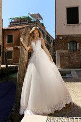 Свадебный салон Bonjour Свадебное платье Scarlett из коллекции La Douceur