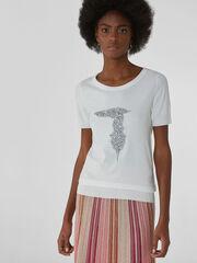 Кофта, блузка, футболка женская Trussardi Джемпер женский 56M00278-0F000496