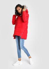 Верхняя одежда женская O'stin Куртка женская с искусственным мехом LJ6V88-14