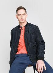 Верхняя одежда мужская O'stin Куртка-бомбер с воротником-гольф MJ6W72-69