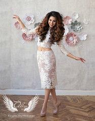 Вечернее платье ALIZA Комплект «Sandra»