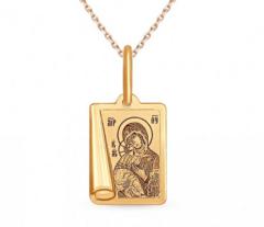 Ювелирный салон Sokolov Подвеска из золота 104001
