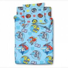 Подарок Торговый дом С Текстиль Детский комплект белья 1.5 сп. Трансформеры - Classic 4092-1