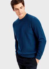 Кофта, рубашка, футболка мужская O'stin Джемпер из твидoвой пряжи MK4T55-67