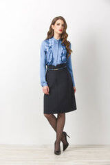 Кофта, блузка, футболка женская Elema Блузка женская Т-7159