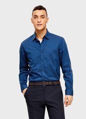 Кофта, рубашка, футболка мужская O'stin Рубашка с принтом из хлопка MS4U13-66