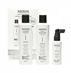 Уход за волосами Nioxin Cистема по уходу для нормальных и тонких, слегка редеющих натуральных волос