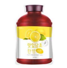 Уход за лицом A'Pieu Fruit Vinegar Маска тканевая Лимон O2576