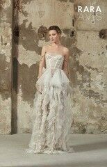 Свадебное платье напрокат Rara Avis Платье свадебное Floral Paradise 2018 Bertel