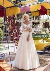 Свадебное платье напрокат А-силуэт Daria Karlozi Платье свадебное «Free Camelia»