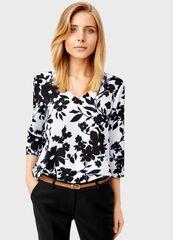 Кофта, блузка, футболка женская O'stin Блузка в цветочный принт LS4T31-00