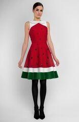Платье женское Pintel™ Комбинированное платье из шёлка и бархата Anika