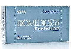 Линзы Cooper Vision Контактные линзы Biomedics 55 Evolution