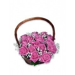 Магазин цветов Планета цветов Корзина с цветами №2