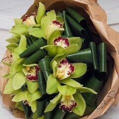 Магазин цветов Долина цветов Букет из орхидей